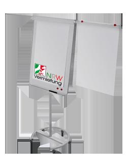 Mobile Flipchart (Profi-/ Luxus Flipchart) magnetisch und beschreibbar für 30 Euro mieten