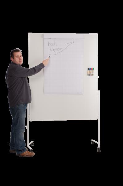 Flipchartfunktionswand (NRW-Design / Umwelt-Line) Mobil und beschreibbar für 52 Euro mieten