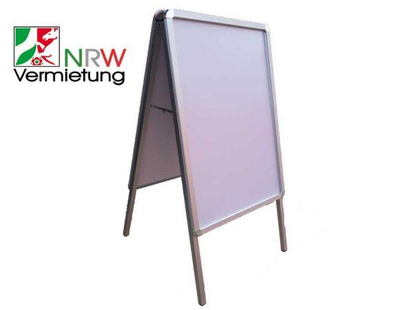 Aufsteller / Kundenstopper / Plakatständer / Werbedisplay in A1 Format für 15 Euro mieten