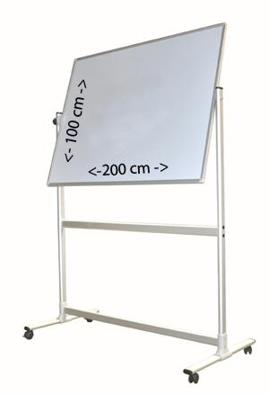 Pinnwand-Drehtafel magnetisch (NRW Umwelt-Line) –  drehbare 360 Grad Ausführung – Größe : 200(B) x 100(H) cm für 95 Euro mieten