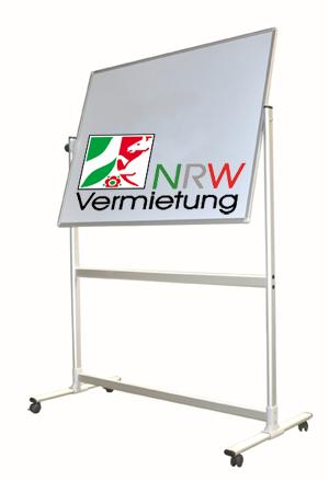 Stativdrehtafel (NRW Umwelt-Line) – drehbare  360 Grad Ausführung – Größe : 200(B) x 100(H) cm  für 95 Euro mieten