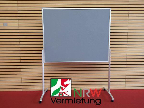 Pinnwand im Querformat als Design Funktionswand ab 20 € mieten