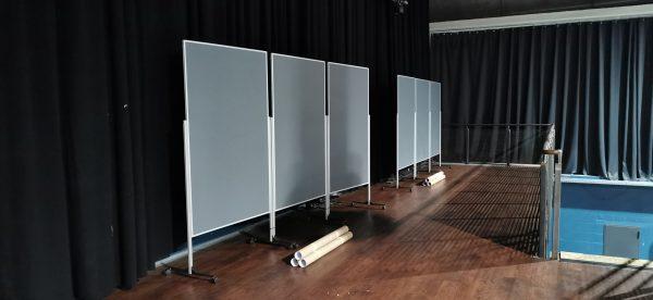 Design Stellwand (XL) – Trennwand in Hochformat sowie Querformat ab 25€ mieten