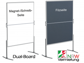 Pinnwand & Whiteboard als Dual-Board (3-4 Fach-Funktion) ab 40 €